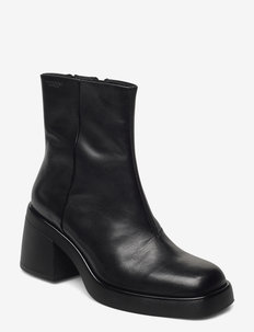 BROOKE - ankle boots with heel - black