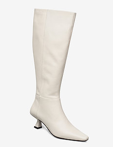 LISSIE - long boots - off white