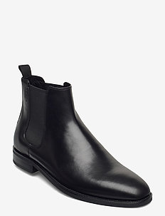 PERCY - chelsea boots - black