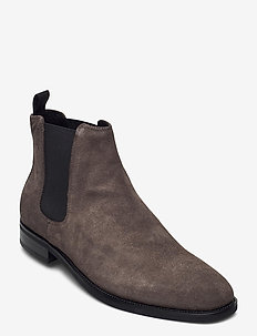 PERCY - chelsea boots - dk grey