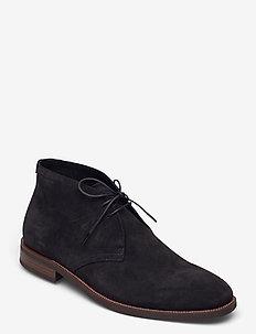 PERCY - desert boots - black