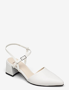 ALVA - slingbacks - white