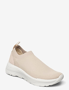 JANESSA - slip-on sneakers - beige