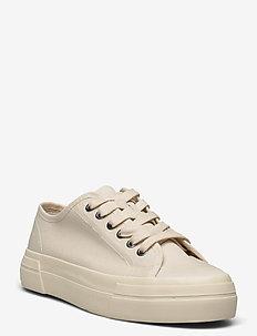 TEDDIE W - låga sneakers - cream white
