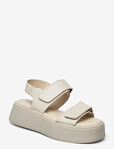 COURTNEY - flat sandals - off white