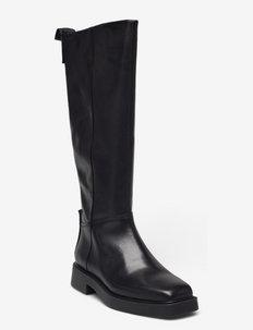 JILLIAN - lange laarzen - black