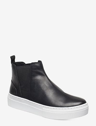 ZOE PLATFORM - chelsea boots - black