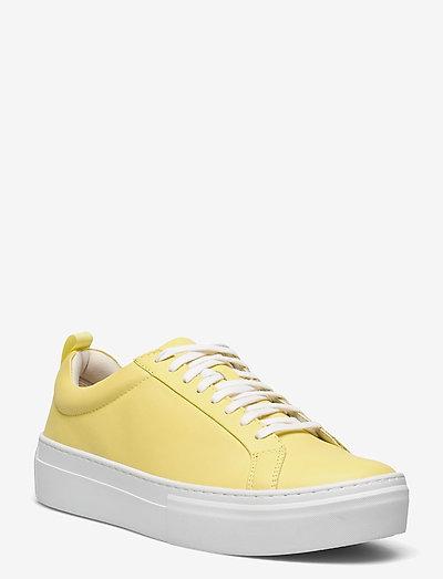 ZOE PLATFORM - låga sneakers - citrus