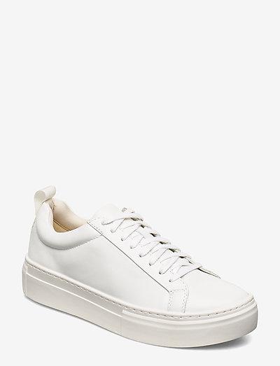 ZOE PLATFORM - sneakersy niskie - white