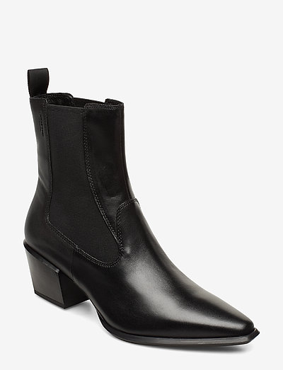 BETSY - heeled ankle boots - black