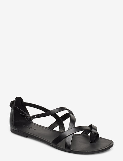 TIA - płaskie sandały - black