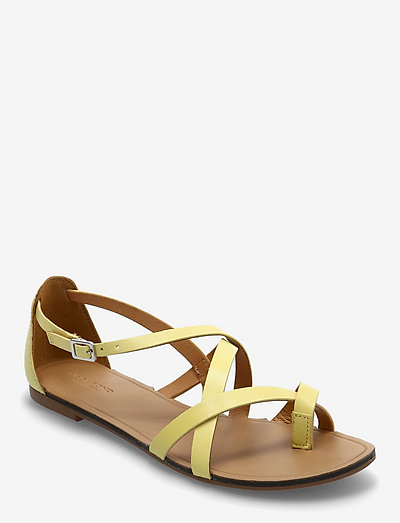 TIA - płaskie sandały - citrus