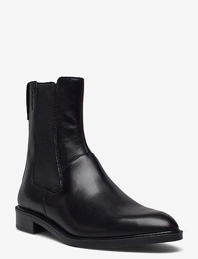 FRANCES - chelsea boots - black
