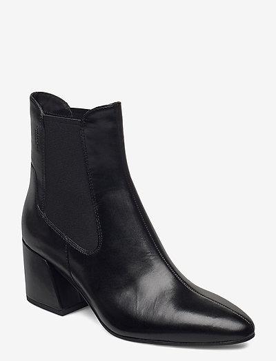 OLIVIA - heeled ankle boots - black