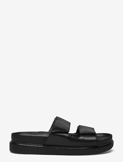 ERIN - flat sandals - black