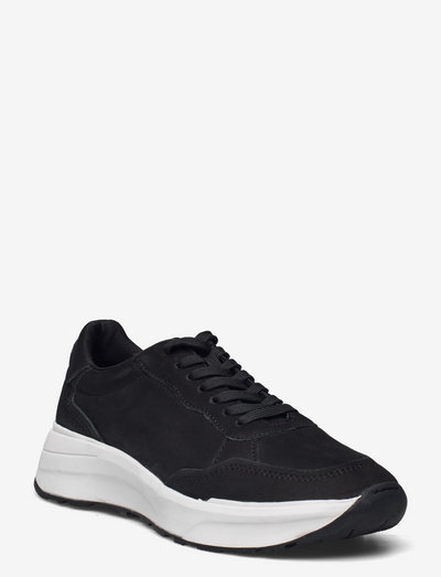 JANESSA - lave sneakers - black