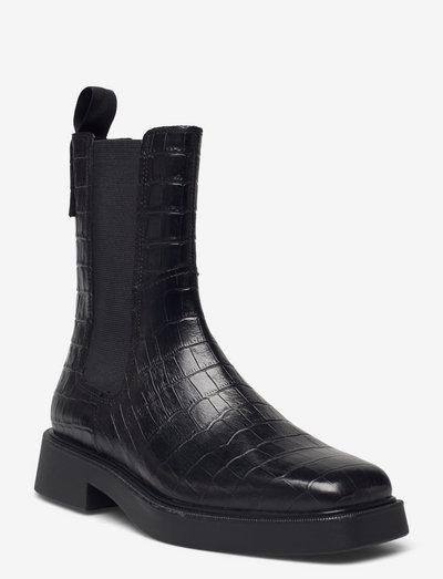 JILLIAN - chelsea boots - black