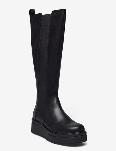TARA - long boots - black