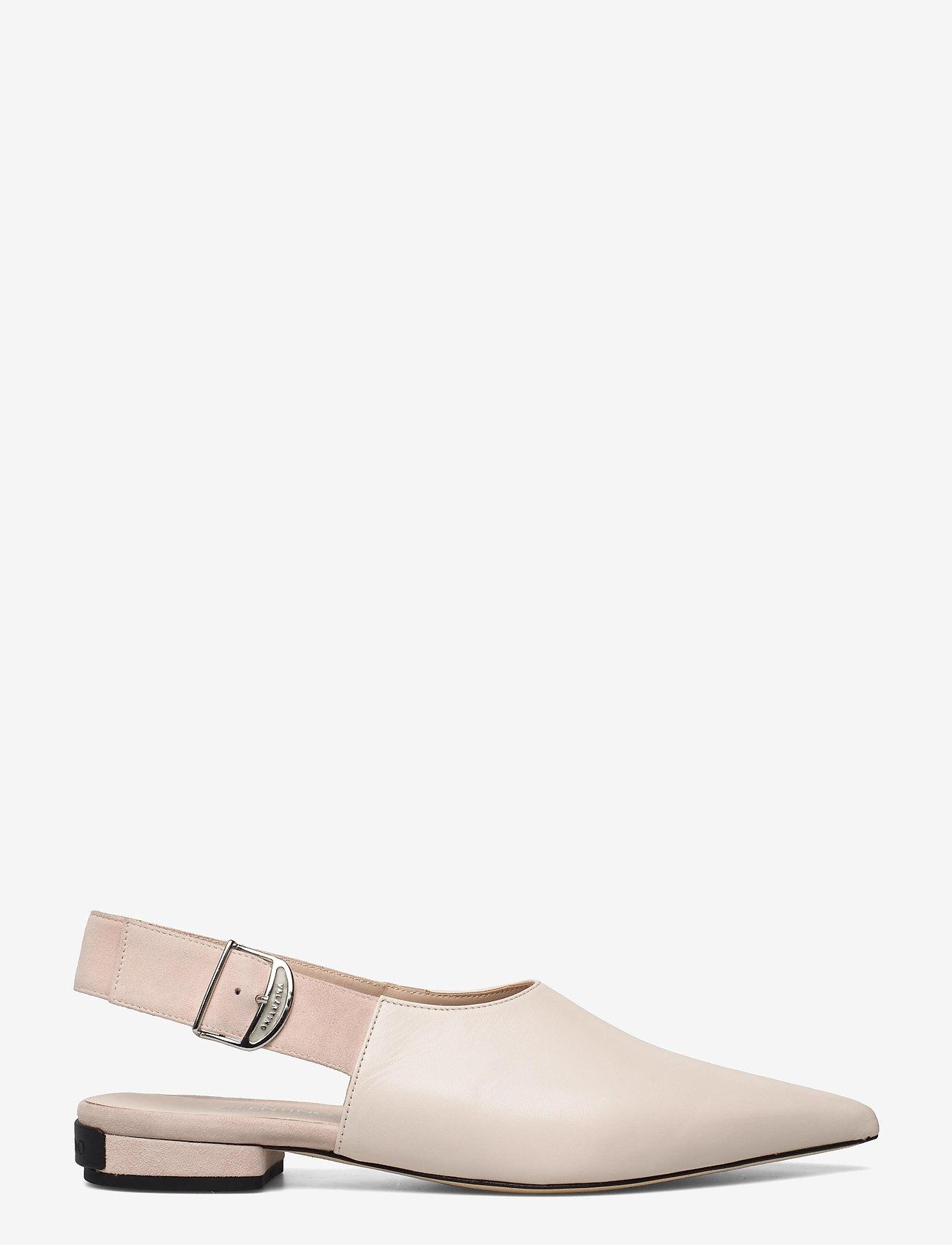 Valentino Shoes - SLINGBACK AND VALENTINO BUCKLE - ballerinas - white - 1