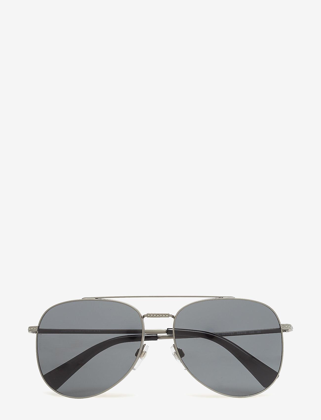Valentino Sunglasses - Glamtech - pilot - matte gunmetal sandblast - 1