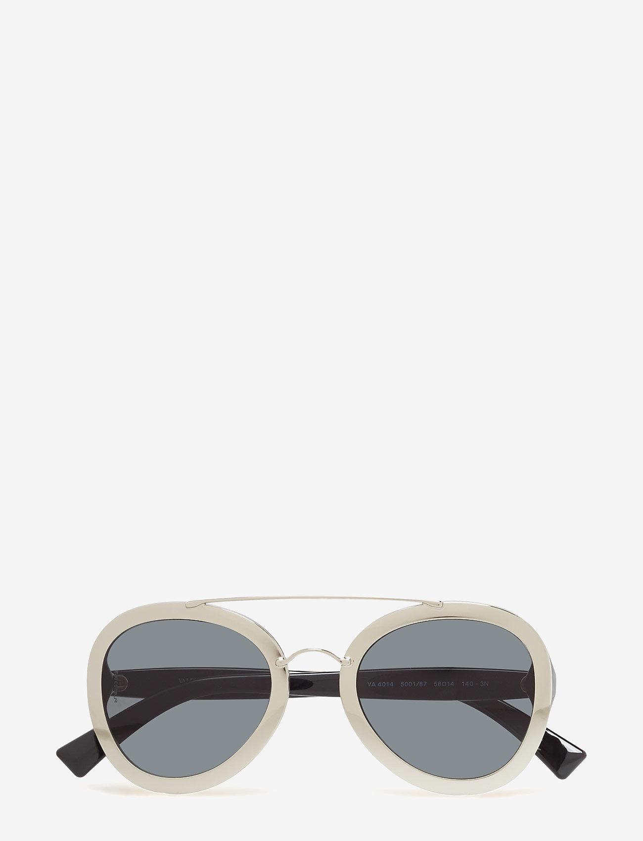 Valentino Sunglasses - ROCKER - round frame - silver - 0