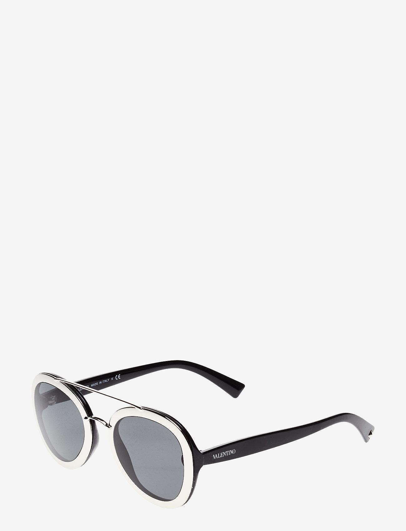 Valentino Sunglasses - ROCKER - round frame - silver - 1