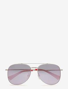 Glamtech - okulary przeciwsłoneczne aviator - matte sandblast silver