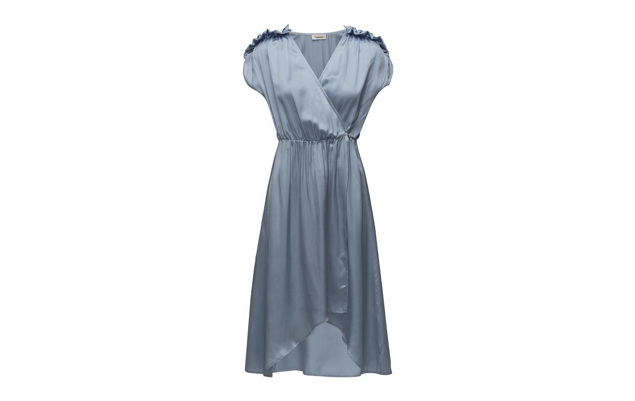 Obey Soie 100 Dress Blue Valerie wpAqO8X