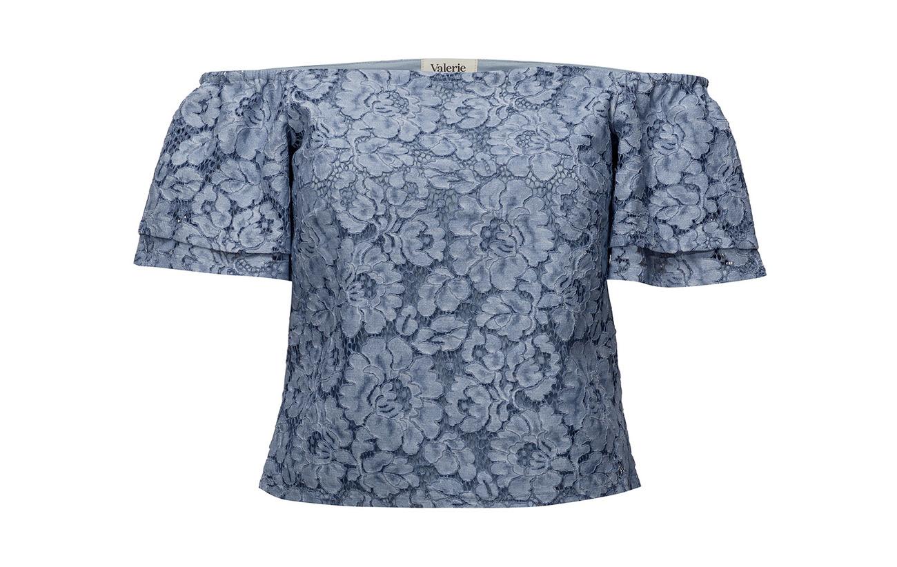 95 Intérieure Top Polyester Valerie Doublure Équipement Polyamide 5 Blue Coton 65 35 Elastane Wham XwqxC4p