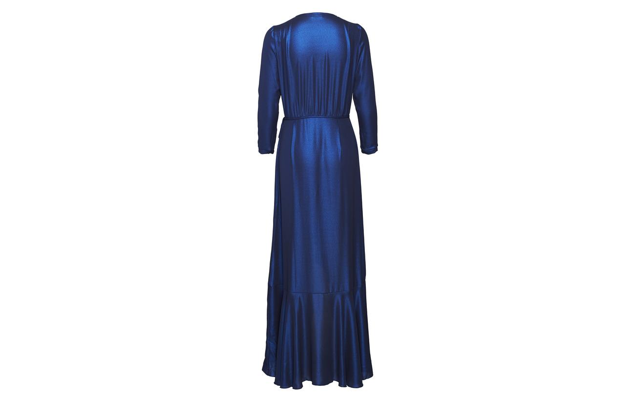 Dress Manet Blue Long Polyester 100 Équipement Valerie OEqUwZ4