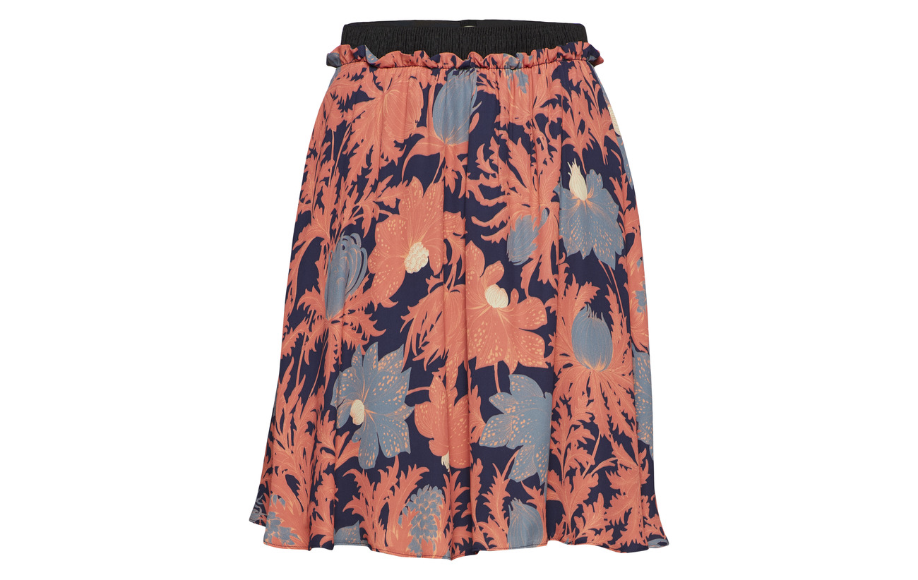 Zoe Valerie Floral Skirt 100 Viscose Équipement 6rWrdPwSqf