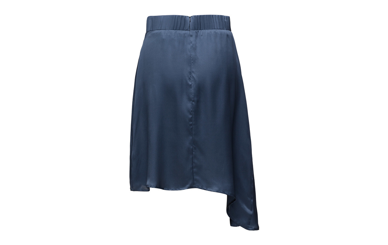 Skirt 100 Valerie Équipement Soie Blue Slip AwwqHU5