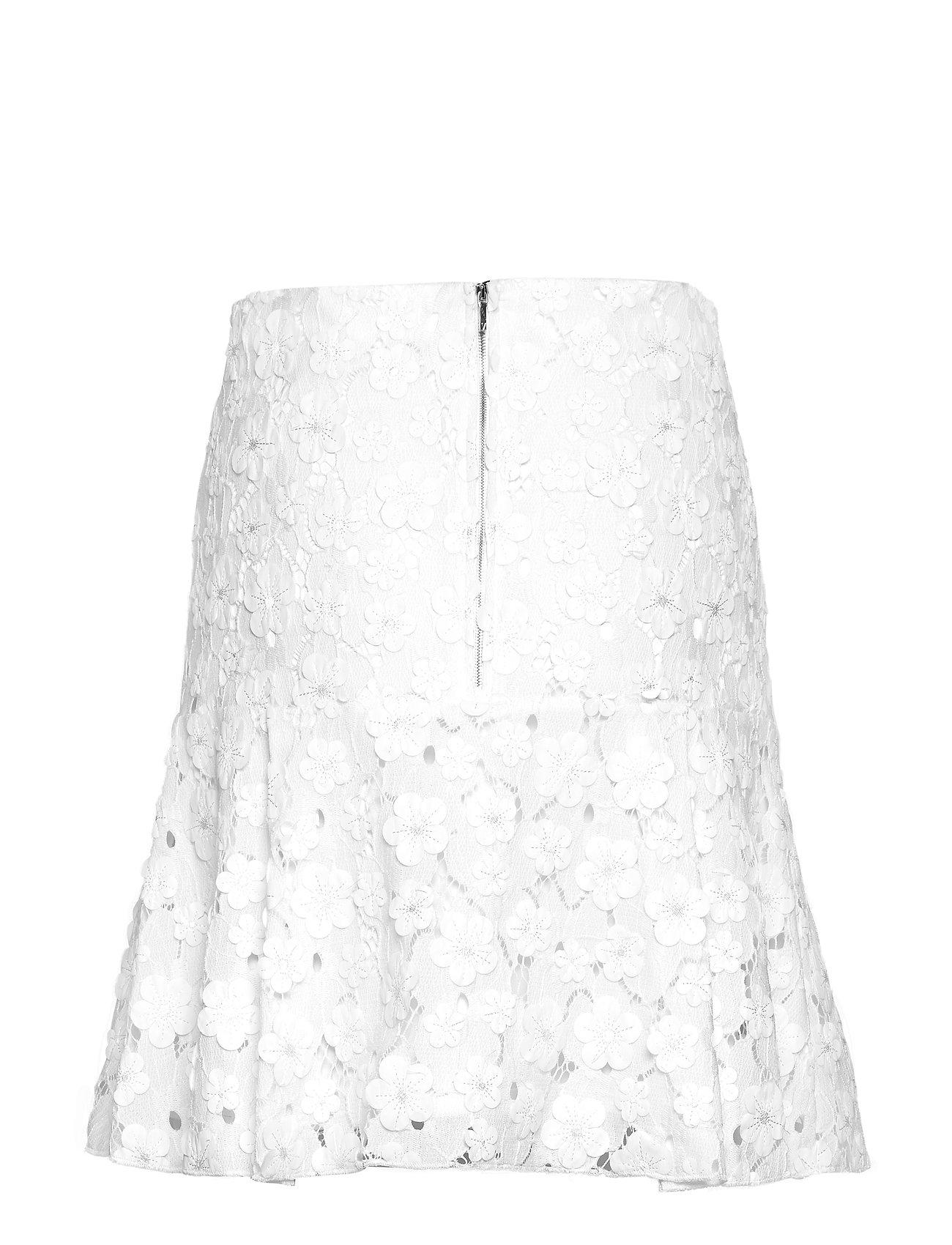 Pony Skirt Knælang Nederdel Hvid Valerie