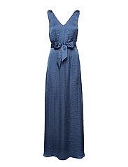 JOULE LONG DRESS - BLUE