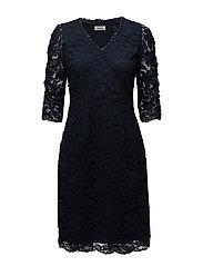 Lake 3/4 Dress - NAVY