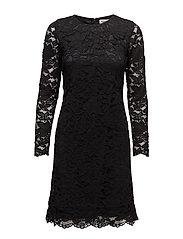 Hello Short Dress - BLACK