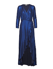 Manet Long Dress - BLUE