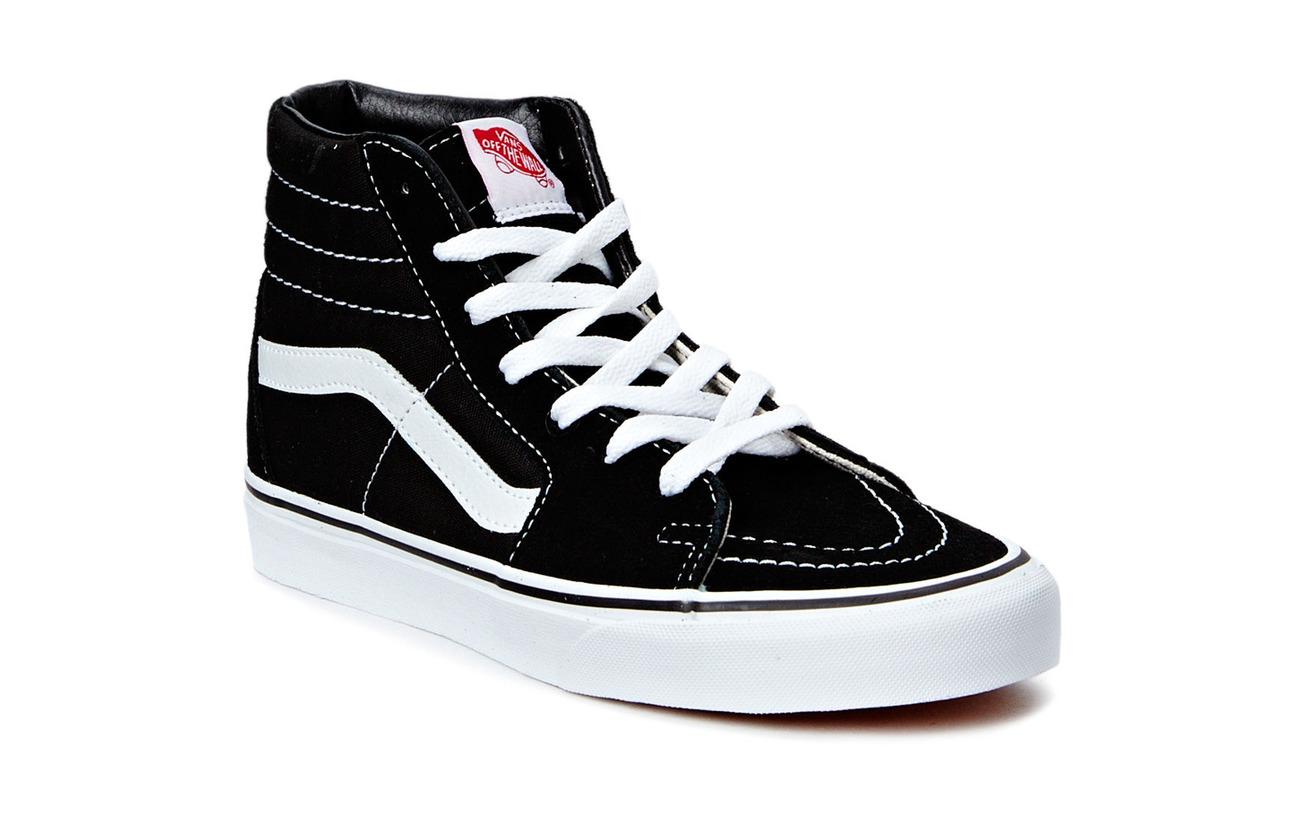 VANS UA SK8-Hi - BLACK/BLACK/WHITE