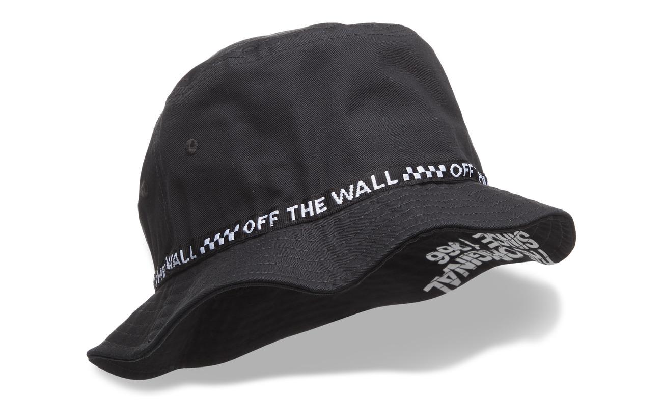 4ce921cca2 Undertone Bucket Hat (Vans Black whit) (£28) - VANS -