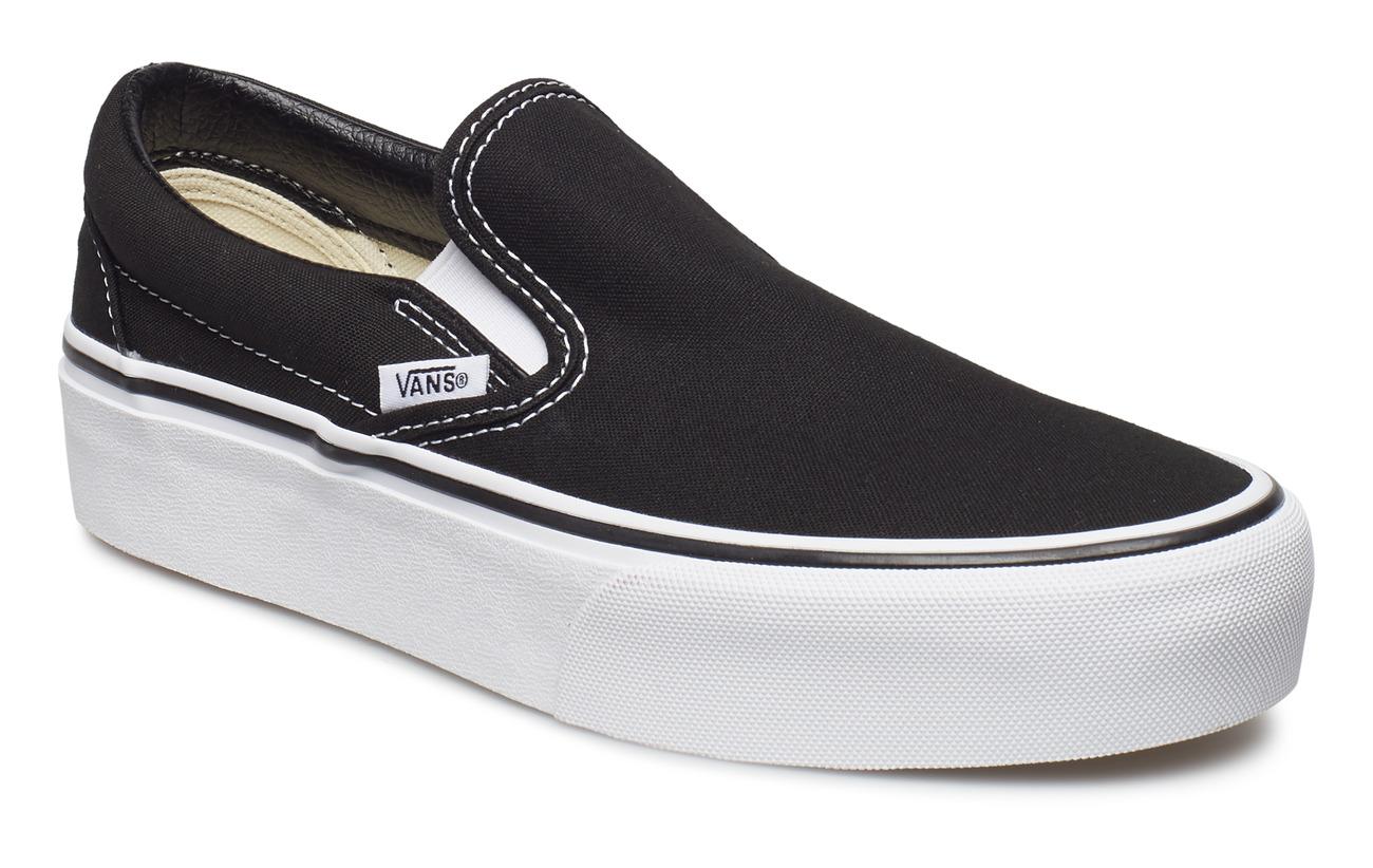 VANS UA Classic Slip-On Platform - BLACK
