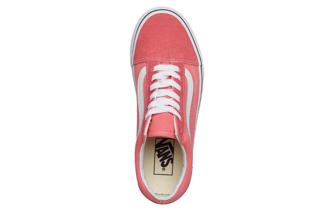 Pink Skoolstrawberry Old truewhiteVans Old Ua Skoolstrawberry Ua 80OXNnPkZw