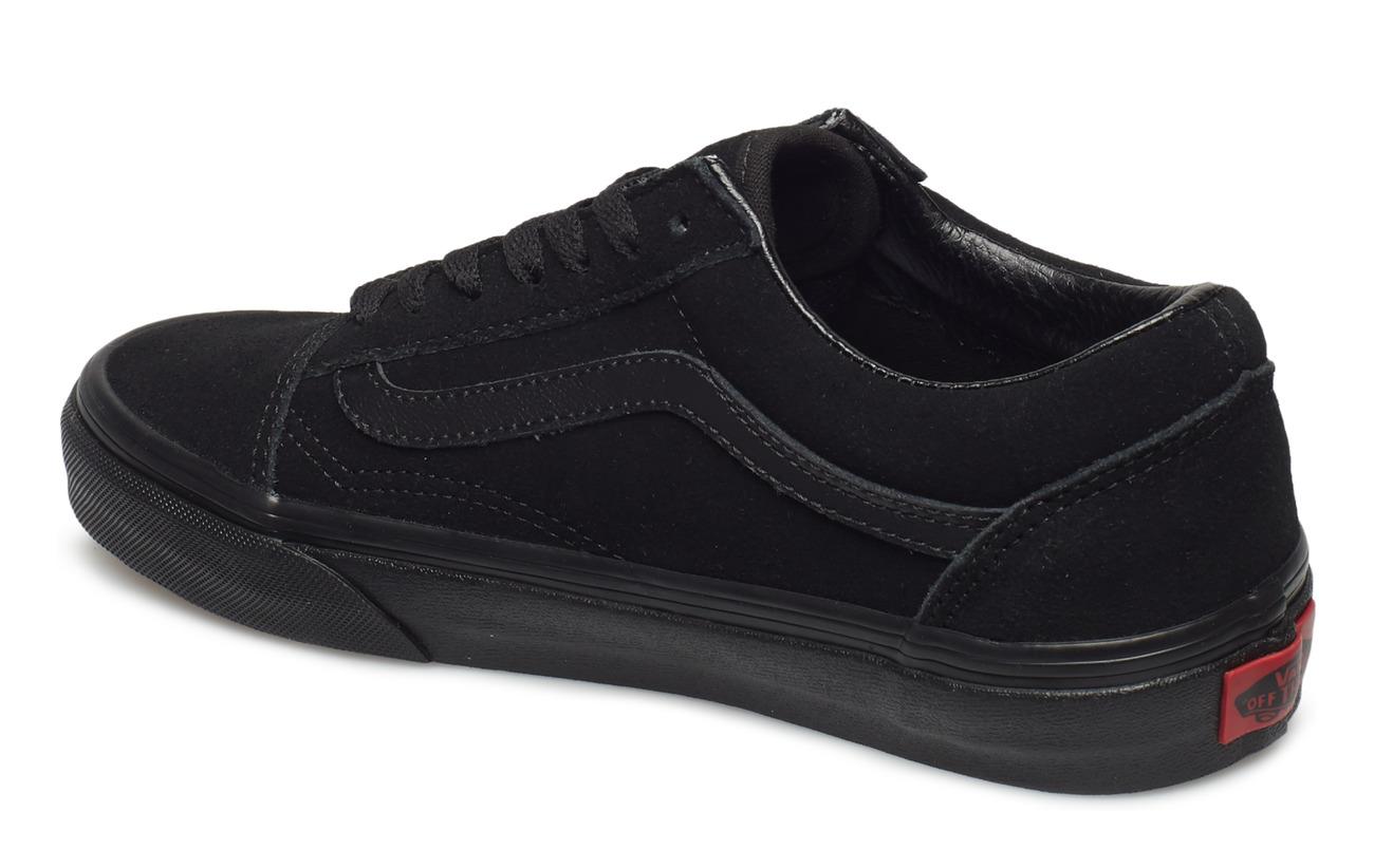 Old black black Ua Skoolsuede blackVans UVzMpS
