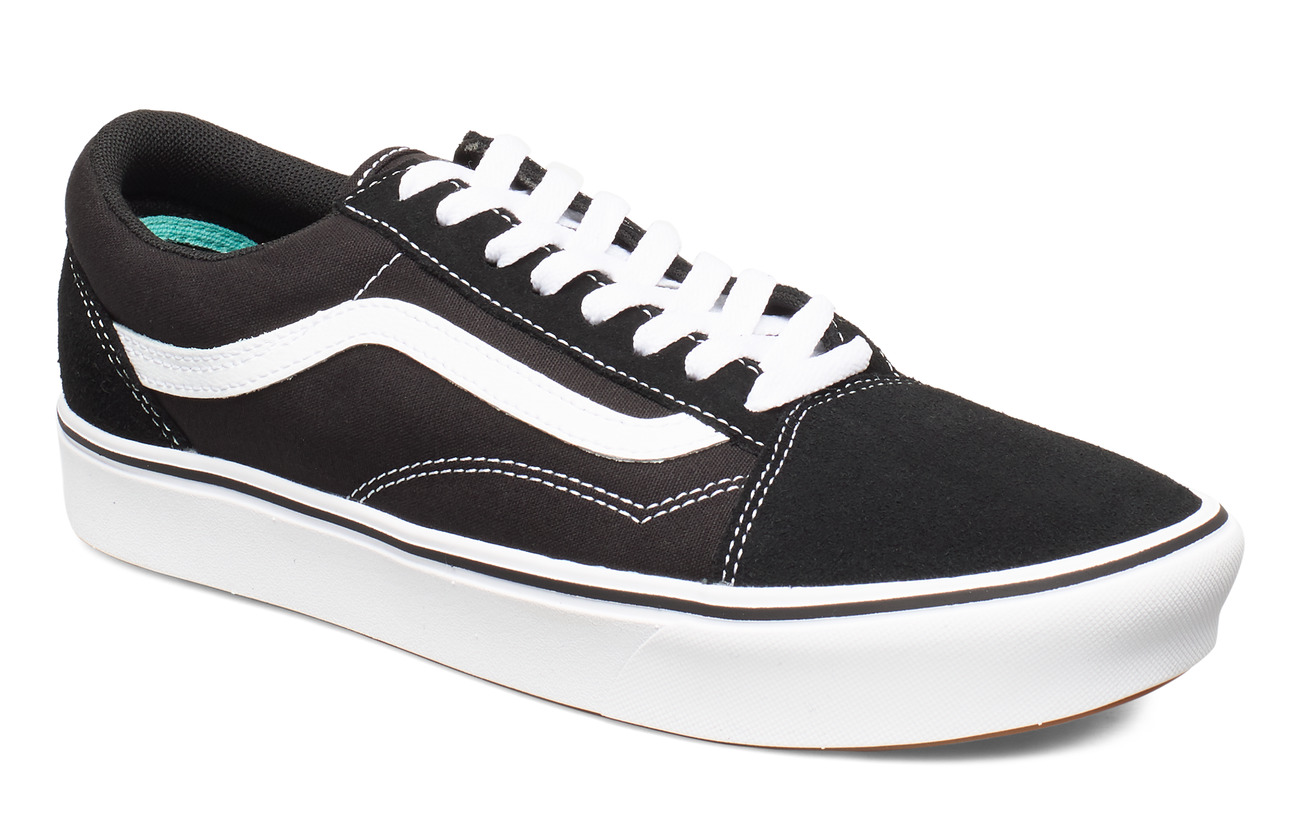 VANS UA ComfyCush Old S (CLASSIC, 3.5, Medium - (CLASSIC) BLACK/TRUE WHIT