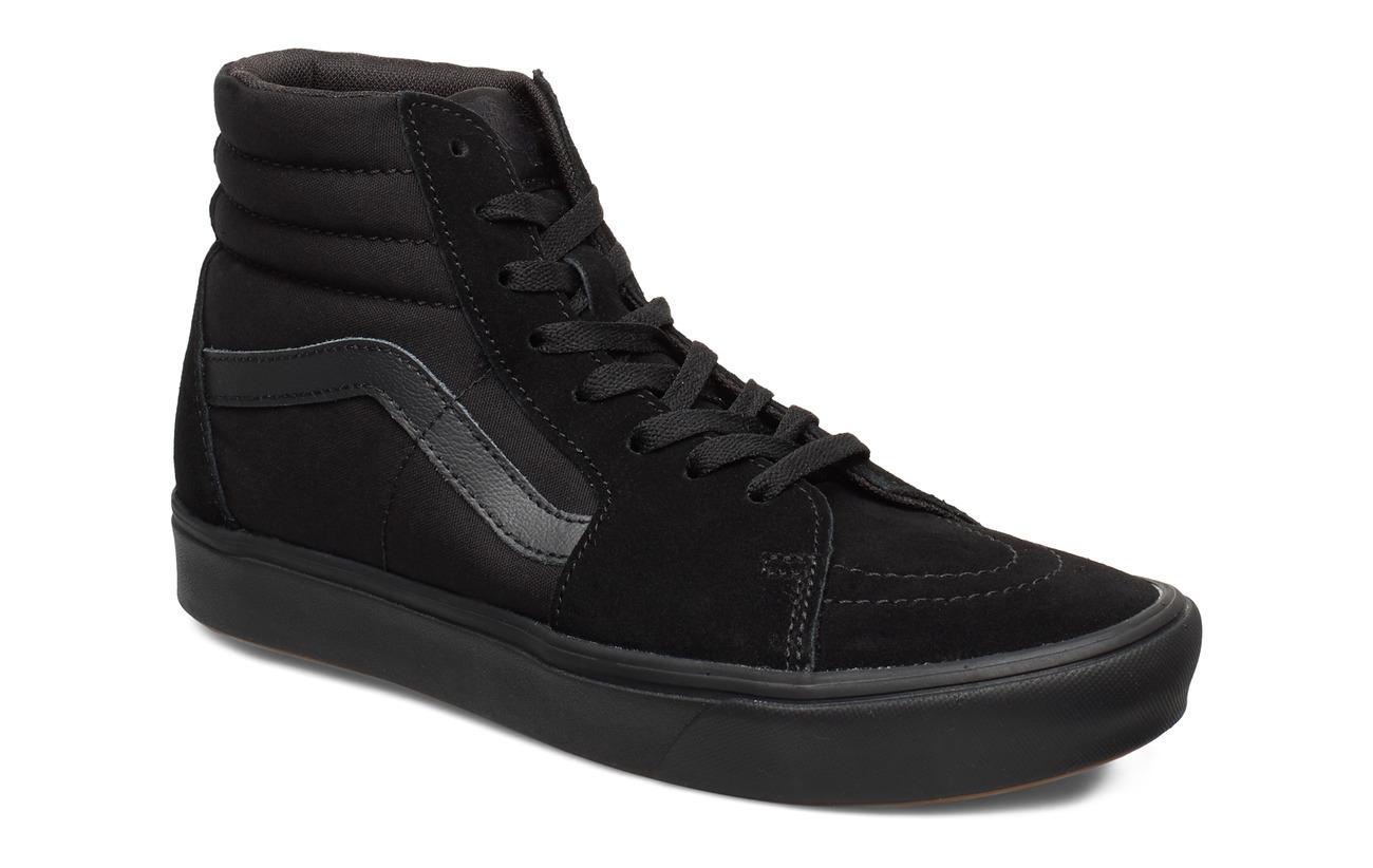 VANS UA ComfyCush SK8-Hi - (CLASSIC) BLACK/BLACK