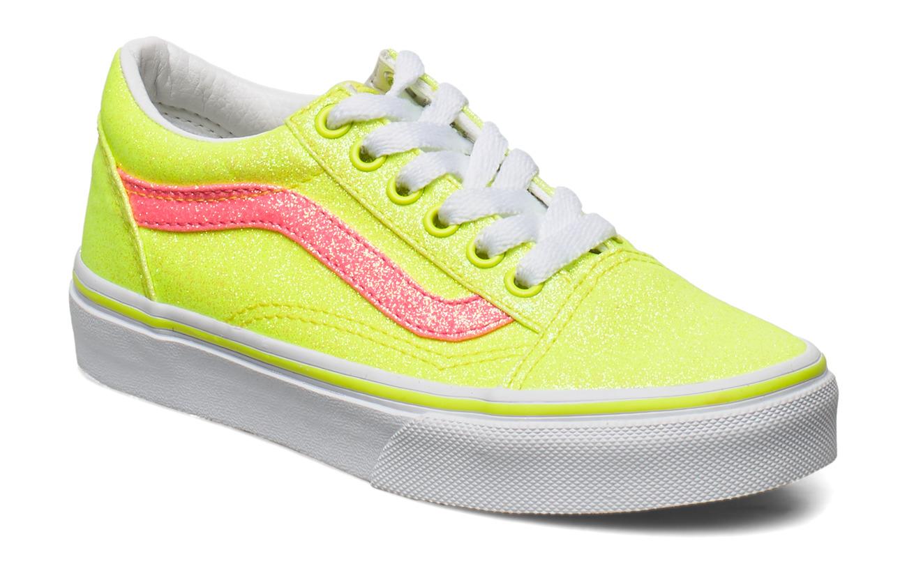 VANS Uy Old Skool ((neon Glitter