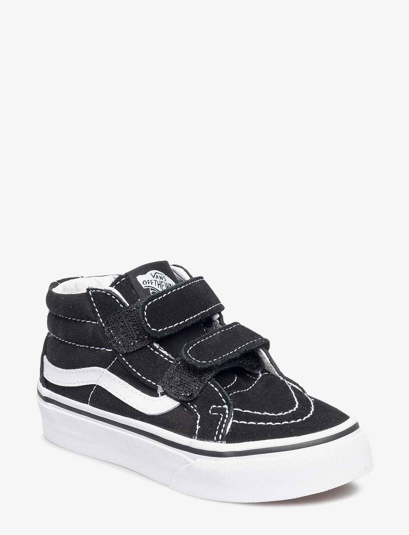 VANS - UY SK8-Mid Reissue V - sportssko - black/true white - 0