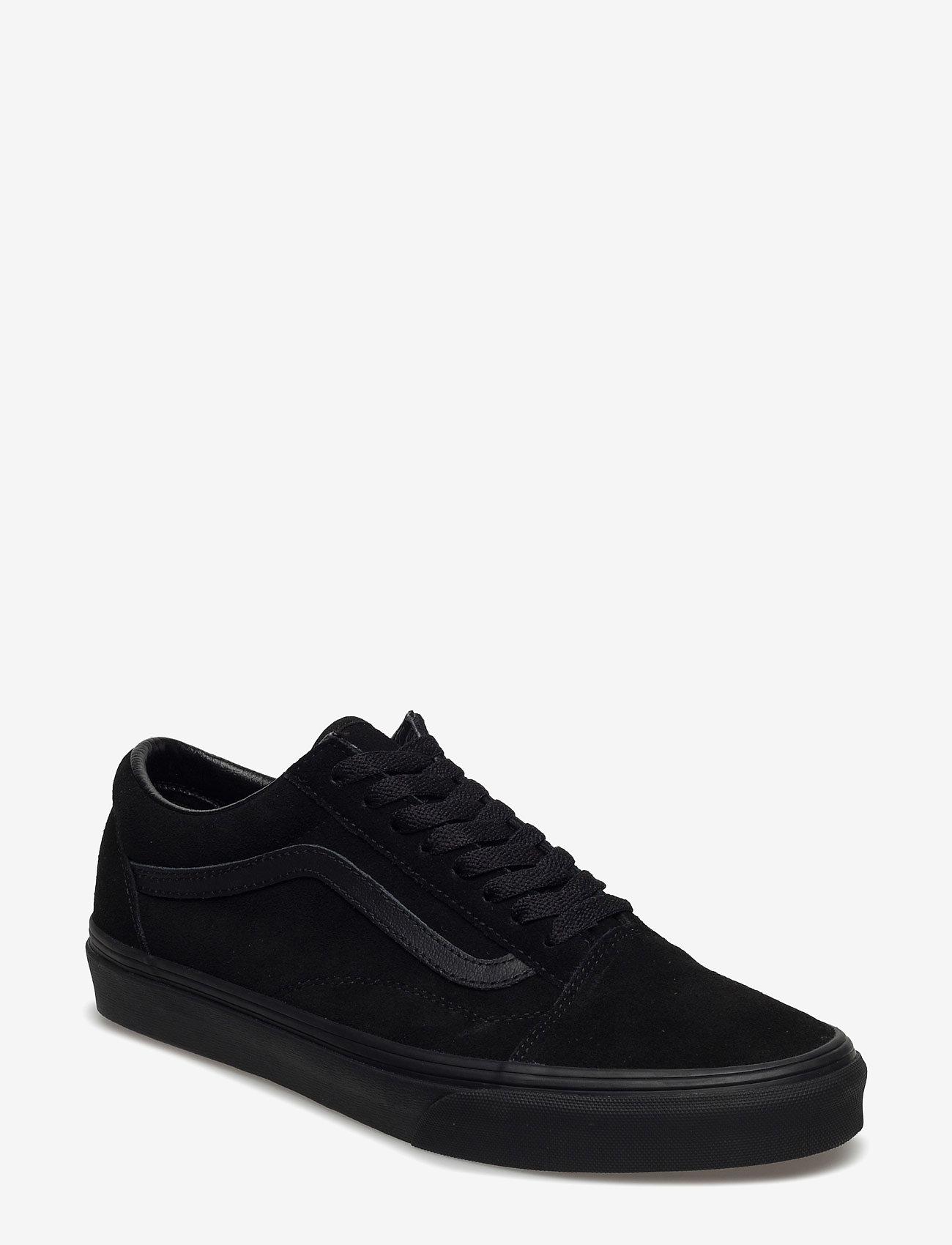 buy \u003e vans old skool suede black black