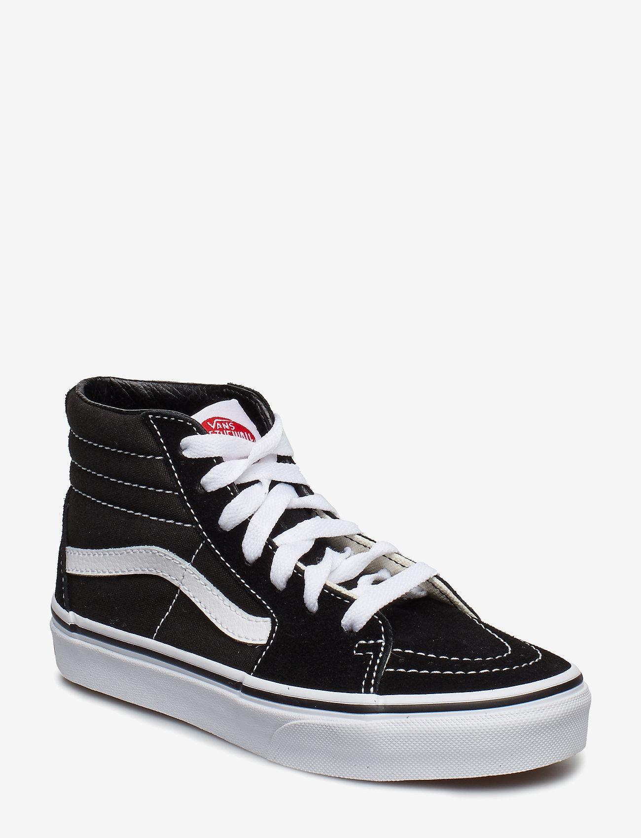 VANS - UY Sk8-Hi - sportiska stila apavi - black/true white - 0