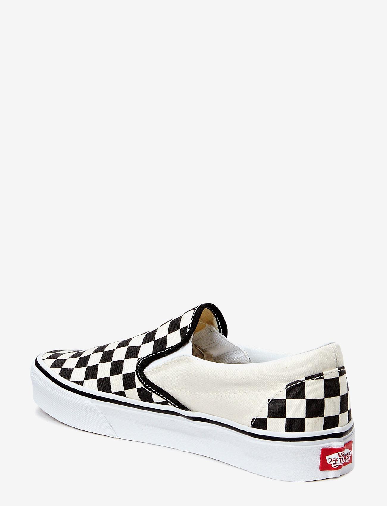 VANS - UA Classic Slip-On - slip-on schoenen - blk&whtchckerboard/wht - 1