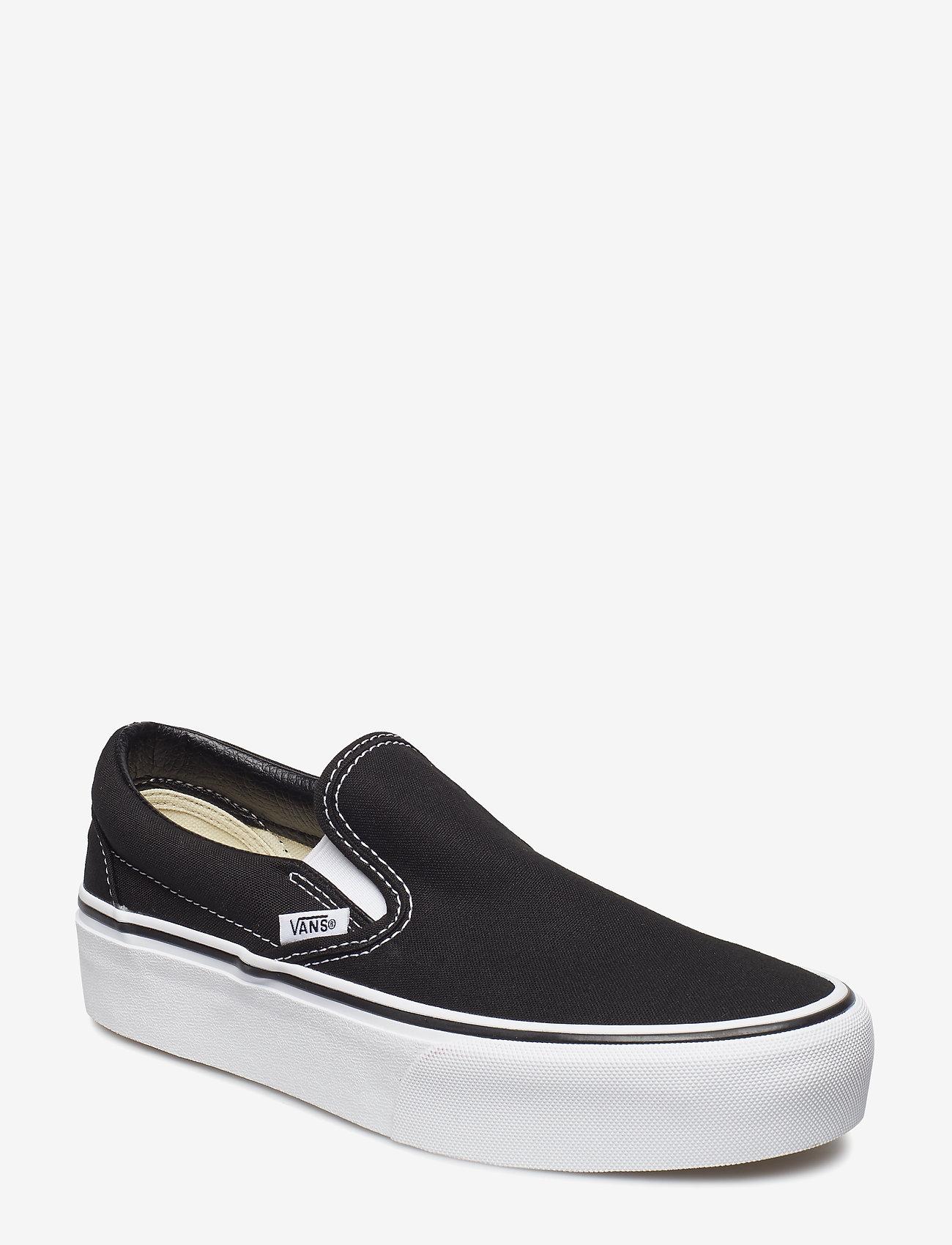 VANS - UA Classic Slip-On Platform - chunky sneakers - black - 0